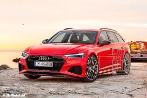 Audi RS 6 Avant: Frontansicht (Illustration): Neuer RS 6 mit eigenständiger Front?