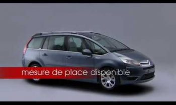 Citroën Grand C4 picasso ph1, DVD mode d'emploi