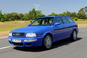 Mit Porsche-Technik: Klassiker des Tages: Audi RS2 Avant