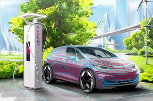 VW-Elektromobilität: So will VW für genug Strom sorgen
