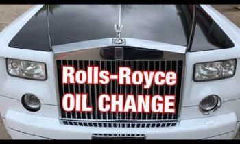 Rolls-Royce Phantom – OIL CHANGE
