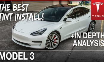 BEST way to TINT a Tesla Model 3 with Ceramic Tint (FULL ANALYSIS)   Houston, TX