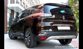 Renault Espace Initiale Paris full review