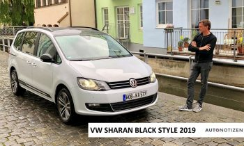VW Sharan Black Style TDI 4Motion (177 PS) 2019 – Review, Test, Fahrbericht