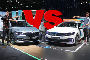 Superb Combi vs. Passat Variant: Kombi-Duell: Skoda Superb vs. VW Passat