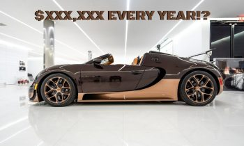 How Much Does It Really Cost To Own A Bugatti!?