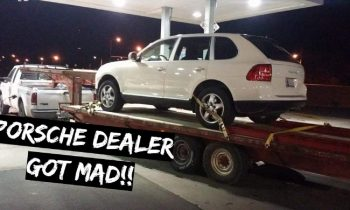 Why the Porsche Dealer got MAD at my $800 TRUCK!