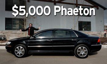 Bought a Cheap VW Phaeton – Big Sedan Challenge   Everyday Driver