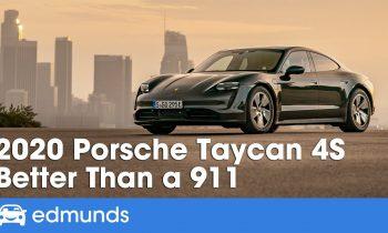 2020 Porsche Taycan 4S Review & Test Drive — Better Than a 911