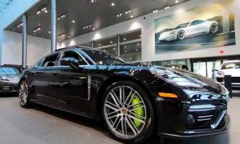 REVIEW of this Jet Black 680 hp Porsche Panamera Turbo S E-Hybrid Executive