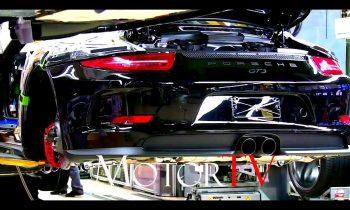 CAR FACTORY : 2017 PORSCHE 911 (991 I) PRODUCTION l FULL ASSEMBLY LINE