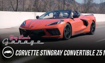 First Drive of 2020 Corvette Stingray Convertible Z51 – Jay Leno's Garage