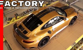 Porsche 911 Turbo S Exclusive Series Factory