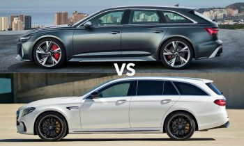 Audi RS6 vs Mercedes E63 S AMG Estate : Which Is the Best Wagon ?