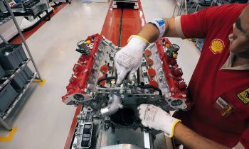 Timelapse F8 Tributo engine build