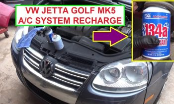 How to Recharge the Air Conditioner on VW Jetta mk5 VW Golf MK5
