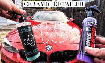 SHINE ARMOR ANY GOOD? BATTLE VS CARBON COLLECTIVE CERAMIC DETAILER