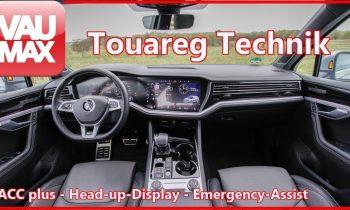 Die Technik des VW Touareg im Detail Teil 3 – ACC plus, Head-up-Display & Emergency Assist