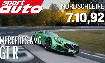 Mercedes-AMG GT R 7.10,92 min Nordschleife HOT LAP sport auto World's Exclusive First Test