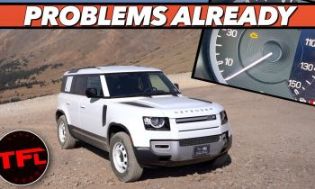 Well, You Told Us So… Our Brand New Land Rover Defender Is Already Broken
