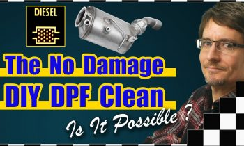 Is Non-Damaging DIY DPF Cleaning at Home Possible? (Diesel Particulate Filter Ash Blocked / Clogged)