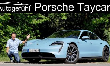Porsche Taycan FULL REVIEW with German Autobahn test Taycan 4S – Autogefühl