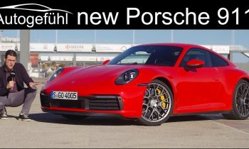 All-new Porsche 911 FULL REVIEW 992 Documentary Carrera S vs 4S 2020 comparison with Cabriolet