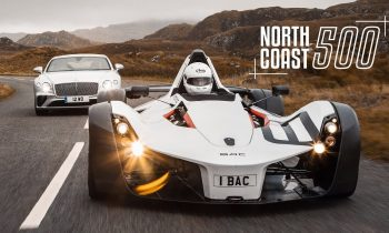 BAC Mono & Bentley Continental GT on Britain's Best Road   Carfection 4K
