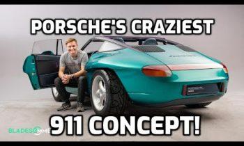 Porsche Panamericana: rare access to the CRAZIEST 911 concept car!