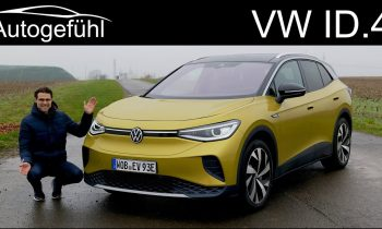 VW ID4 FULL REVIEW driving the all-new Volkswagen EV SUV ID.4 1st Max
