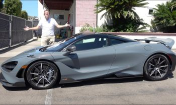 Here's a Tour of the New McLaren 765LT Supercar
