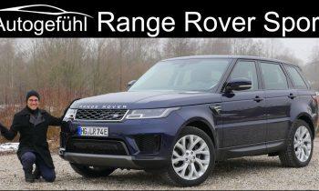 Range Rover Sport P400e Plugin-Hybrid (PHEV) FULL REVIEW 2019 – Autogefühl
