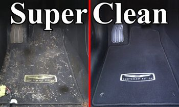 How To Super Clean the Interior of your Car (Carpets & Headliner)