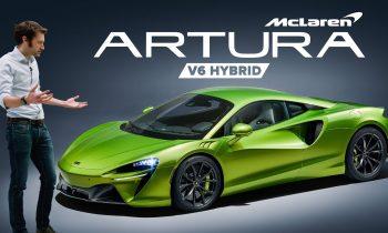 NEW McLaren Artura: FIRST LOOK   Carfection 4K