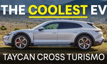NEW Porsche Taycan Cross Turismo: Is There A COOLER Electric Car?