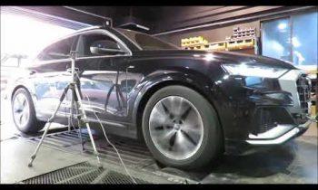2020 AUDI Q8 50TDI Quattro Mar's ECU Tune Dyno Test 340WHP