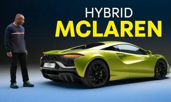 NEW McLaren Artura: A 205mph PLUG-IN Hybrid Supercar   4K