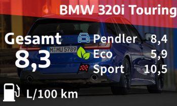 Kosten und Realverbrauch: BMW 320i Touring M Sport