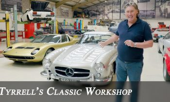 Mercedes-Benz 300 SL Gullwing – Recommissioning an Automotive Icon | Tyrrell's Classic Workshop