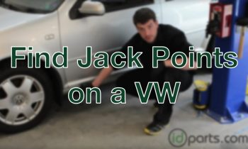 Finding the Jack Points on a VW