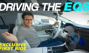 Driving the Mercedes EQS ! First time in the EV S-Class ⚡