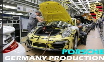 Porsche Production in Germany (Zuffenhausen)