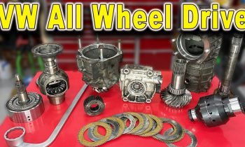 How Haldex (AWD) All Wheel Drive Works ~ Teardown and inspection