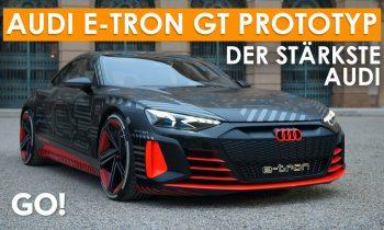 Der neue Elektrosportwagen von Audi – Der Audi e-tron GT Prototyp