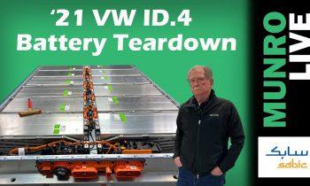 2021 Volkswagen ID.4: Battery Teardown